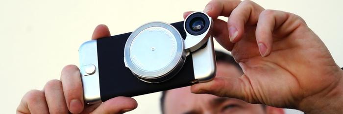 在「祖传」的 800 万摄像头上玩出花:iPhone 外置镜头 Ztylus