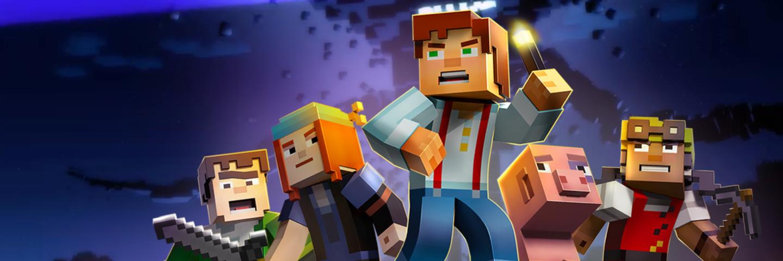 可以高抬差评的手了,表现尚可的文字冒险游戏:Minecraft Story Mode