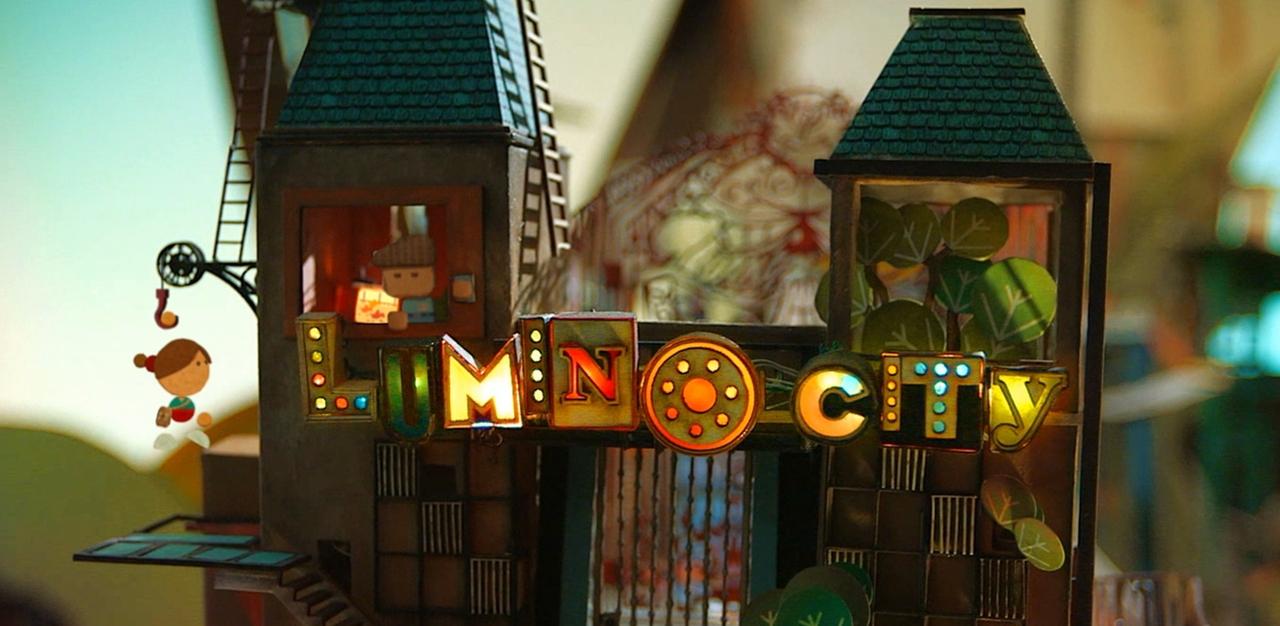 纸模搭建的童话世界,清新解谜游戏:Lumino City