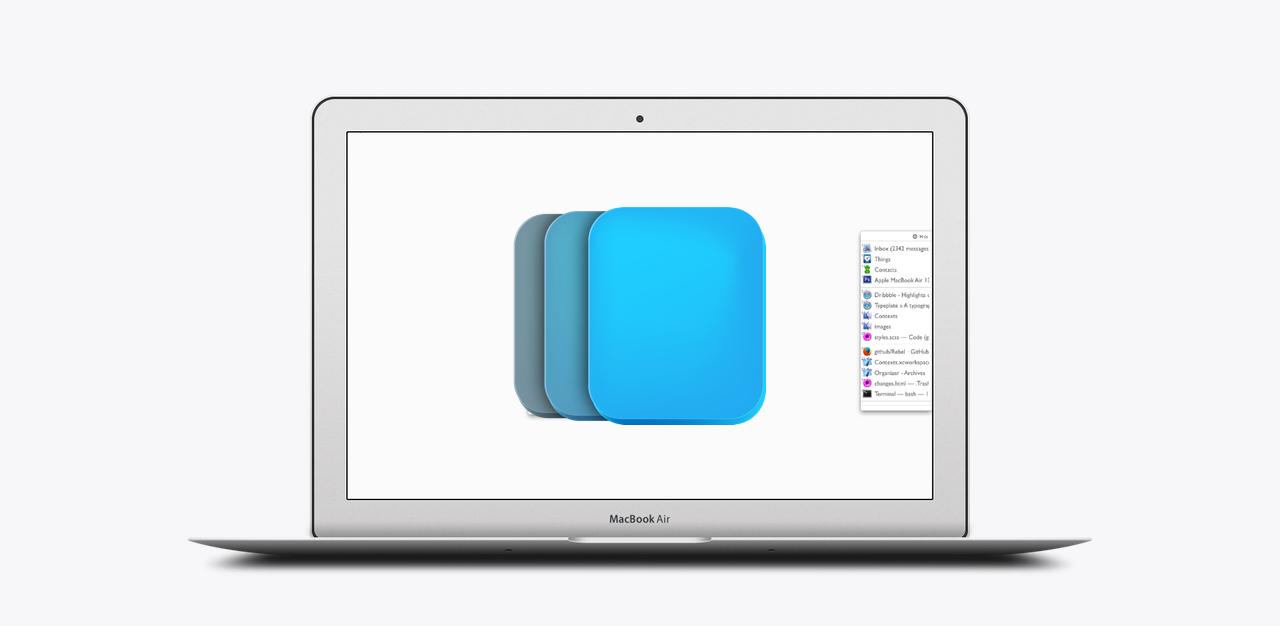把「切换窗口」玩出花儿,Mac 窗口管理神器:Contexts