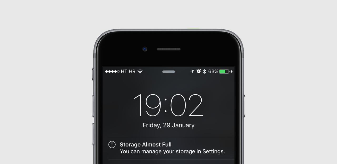 节省 iOS 设备磁盘空间,这里有 40 种方法