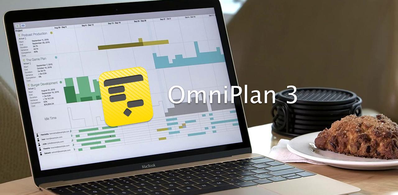 还在用 Excel 排项目计划?试试专业项目管理软件:OmniPlan