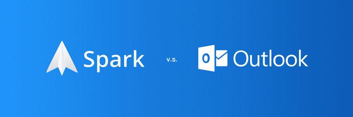 比较 Spark 与 Outlook