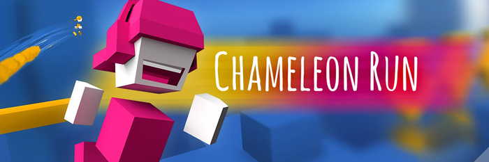 Chameleon Run,跑酷游戏新创意,变色才是生存之道丨App+1