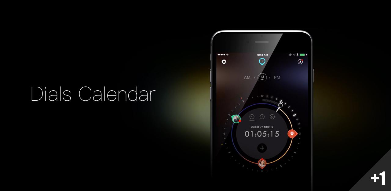 Dials Calendar,像看手表一样,看今天的日历安排   App+1