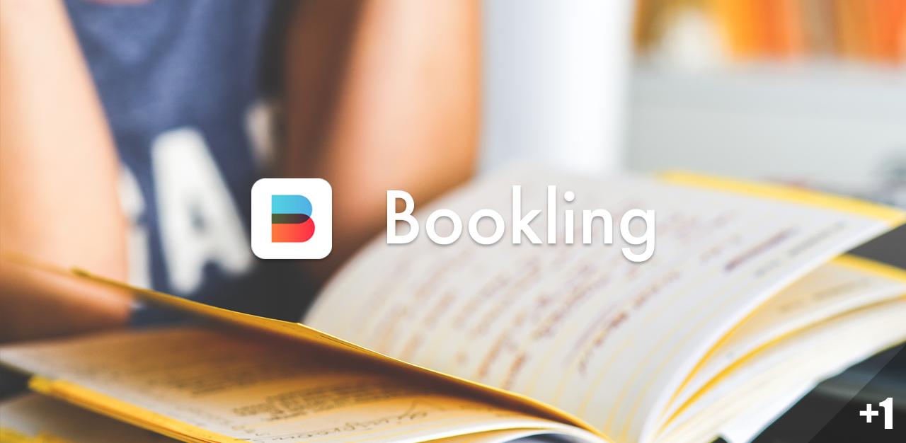 Bookling,为你的纸质书加上电子书签丨App+1