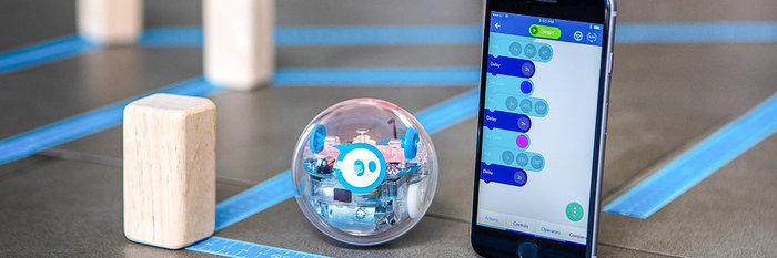 Sphero SPRK+,和星战的 BB-8 一样,这个球也是机器人 | 新玩意 · Apple Store