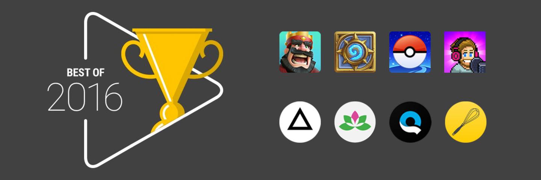 Google 心中的最佳:Google Play 2016 年度游戏 & 应用