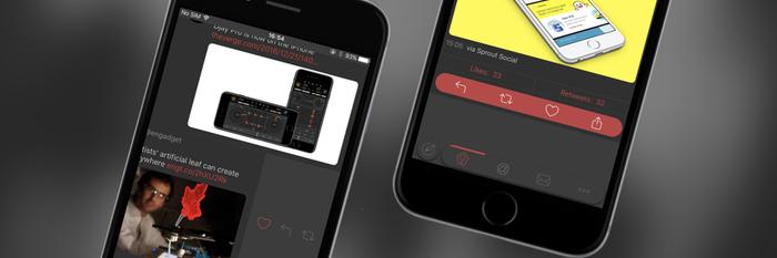 Depth for Twitter,轻快的刷推体验 | App + 1