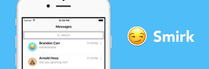 Smirk,快速用 Emoji 装点你的联系人头像丨App+1