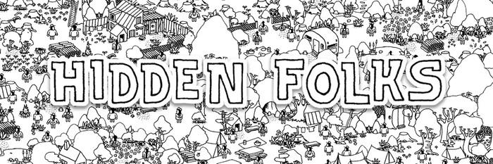 给我一双慧眼吧,在魔性手绘世界里来一把捉迷藏:Hidden Folks