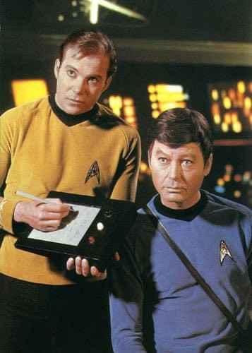 星际迷航中的平板原型