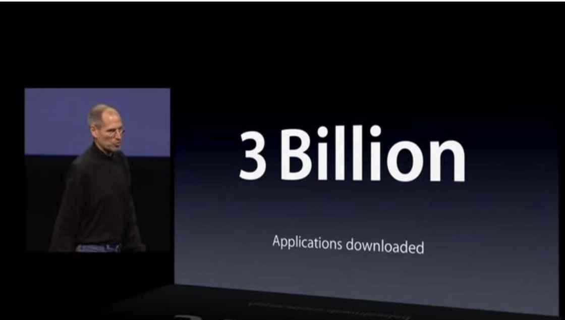 2010 年 iPad 发布会 - 下载量