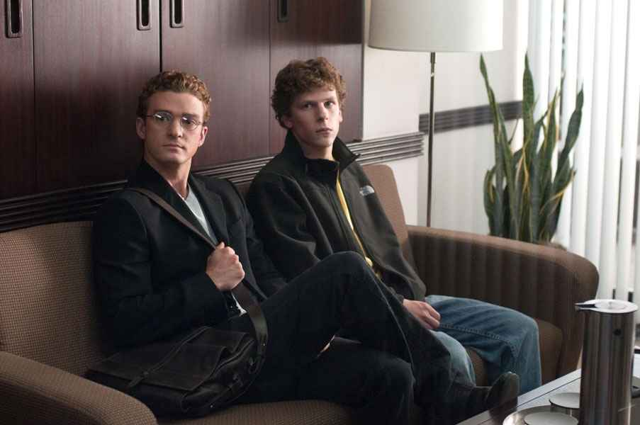 Justin Timberlake 在《社交网络》中饰演 Napster 创始人