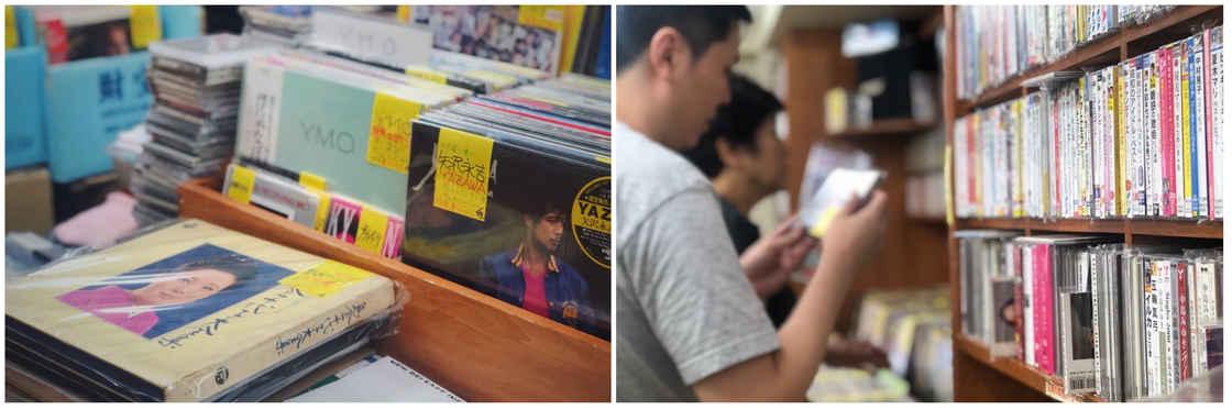 上野公园附近的二手 CD 店