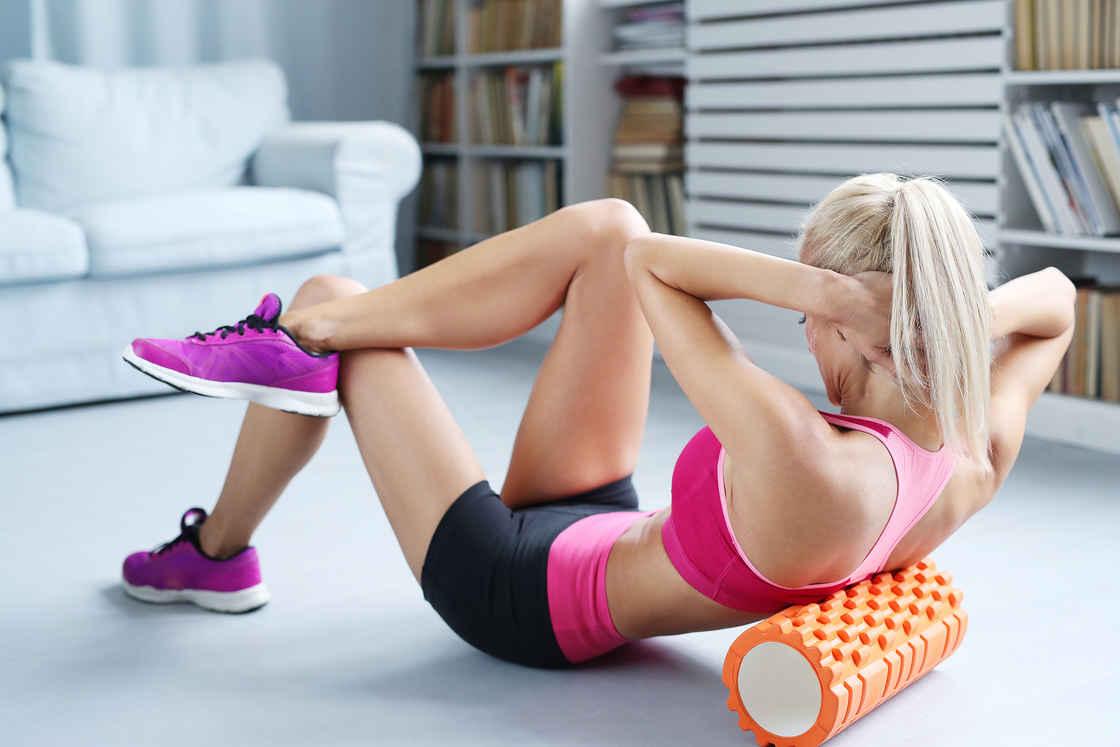 狼牙棒,又称按摩滚筒,既可以用来放松肌肉,也能当作锻炼道具