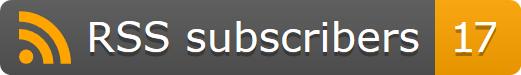 显示 RSS 订阅总人数的动态小牌子