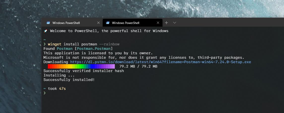 WinGet —— Windows 官方的包管理工具