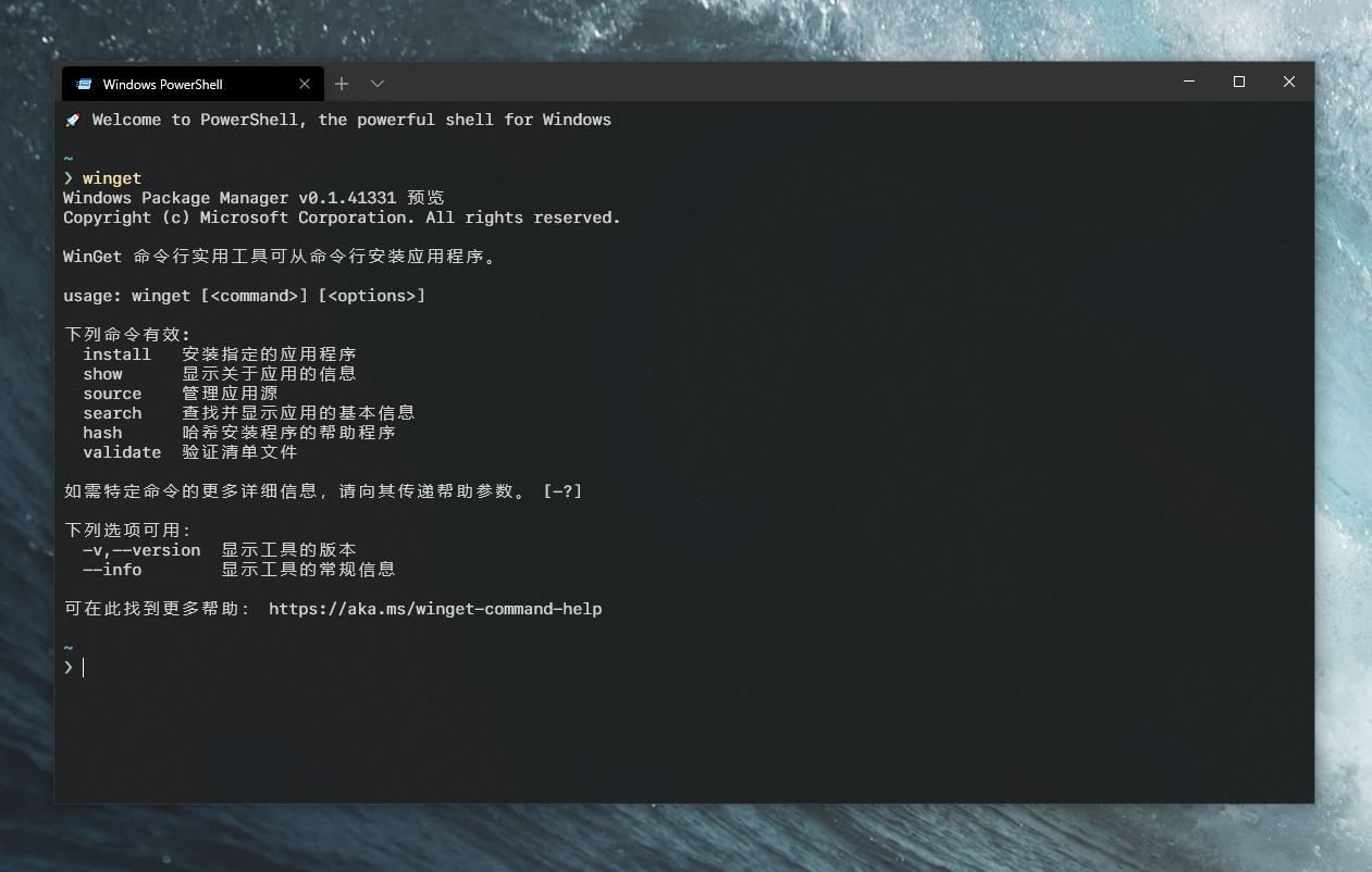 WinGet:微软官方开发的 Windows 包管理工具