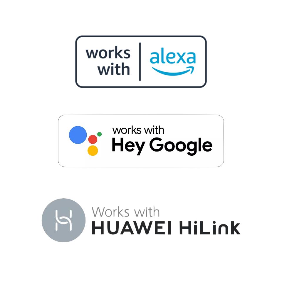 亚马逊、谷歌、华为智能家居认证标志 Alexa 官网/Google 开发者/国家知识产权局
